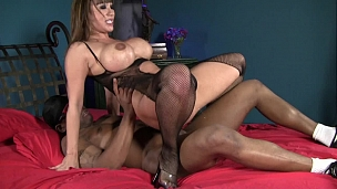 Hot Ava Devine And Black Cock