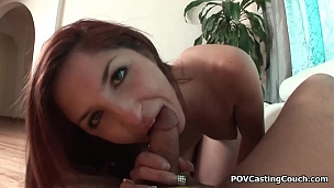 Great POV blowjob and fuck with sexy Grace Wood